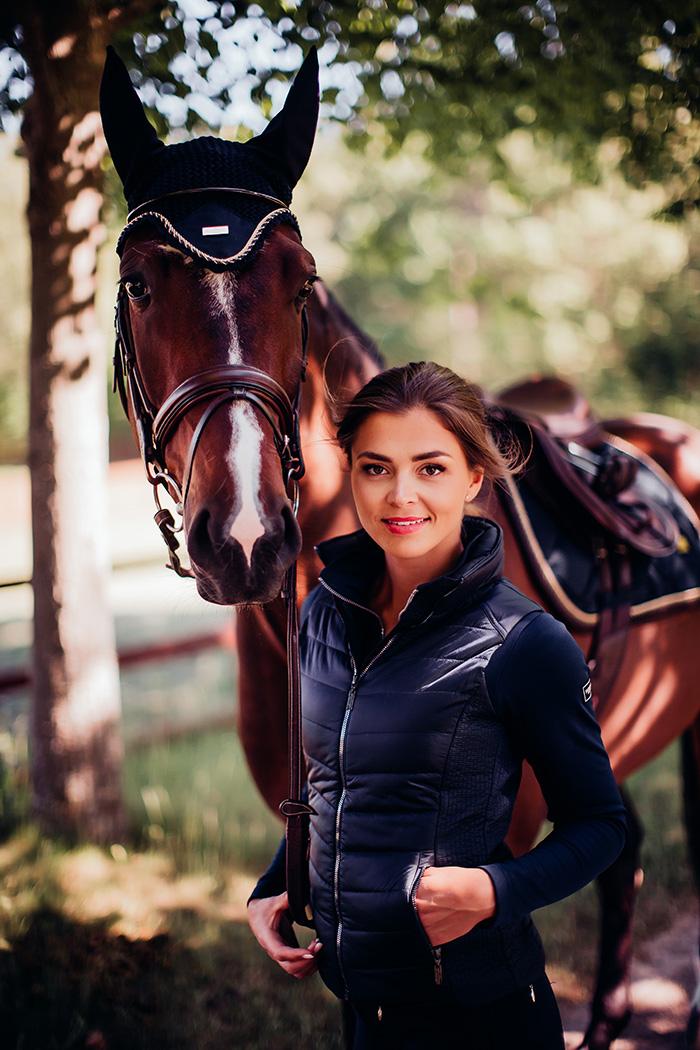 Equestrian Vest Classic Navy Equestrian Stockholm Global