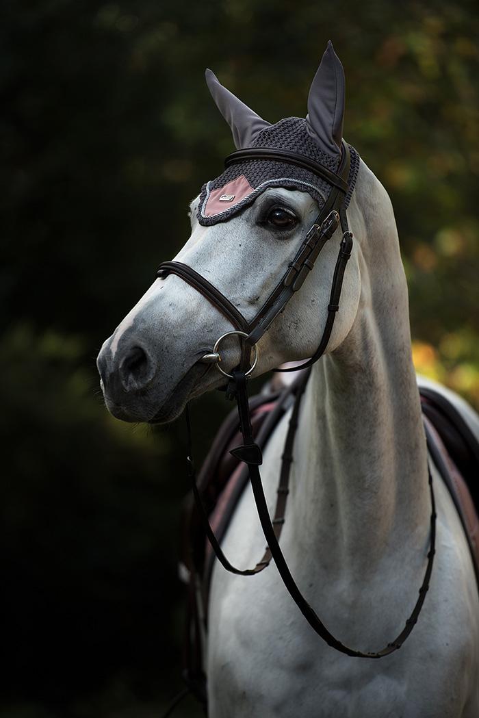 Ear net Dusty Pink   Equestrian Stockholm